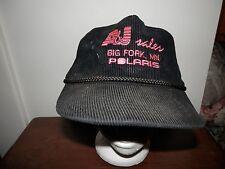 trucker hat baseball cap A&J sales Big Fork MN POLARIS snowmobile retro vintage