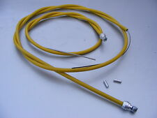 Yellow Brake Cables For Old School BMX Barrel End Vintage 80s Size Or Any Length