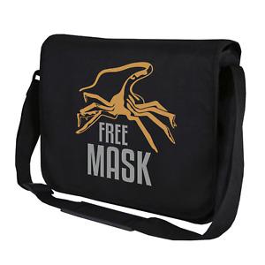 FREE MASK Facehugger Alien Xenomorph Schutzmaske Fun Umhängetasche Messenger Bag