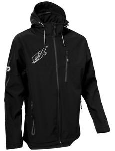 Castle X Mens G3 Barrier Tri-Lam Soft shell Mid-Layer Jacket Black