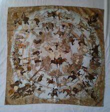 Authentique  Foulard Hermès  'Les Amazones ',authentique  Hermès  Scarf  'Les...