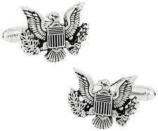 USA Coat of Arms Cufflinks Direct from Cuff-Daddy