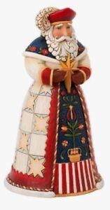Enesco H0 Heartwood Creek Jim Shore Christmas 7in Polish Santa Figurine 4022916