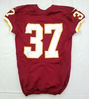 #37 No Name of Washington Redskins NFL Locker Room Game Issued Worn Jersey