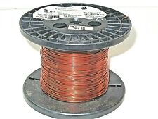 18 AWG Essex Magnet Wire Enameled Heavy Build 200 Degree Celsius 1 LB Spool