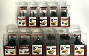 Craftsman Carbide Tipped Router Bits - Various Sizes - Click to Choose