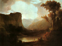 Art Oil painting Doughty, Thomas American In Nature's Wonderland Hand painted
