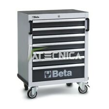 Cassettiera 7 cassetti Beta C45C7 carrello portautensili per arredo officina C45