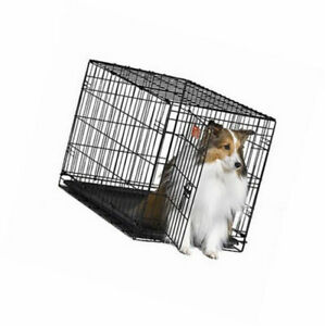 """MidWest Homes for Pets Dog Crate iCrate Single Door 30""""  (Damaged Pan)"""