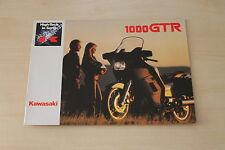 Auto & Motorrad: Teile 193653 Kawasaki Zxr 400 Prospekt 199?