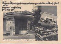 uralte AK Hygiene-Ausstellung Dresden 1931 //35