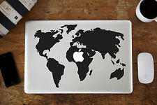 "Mapa del mundo Decal Sticker Para Apple Macbook air/pro Laptop de 13 "" 15"""