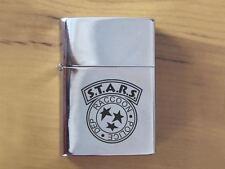 Biohazard STARS Resident Evil Polished Chrome Lighter