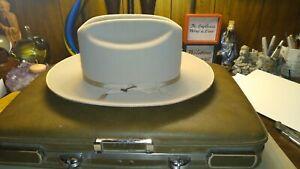Stetson Men's 6X Open Road Fur Felt Hat ~ Size 7 1/8 ~ Silver Belly ~ NICE !!!