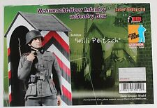 dragon cyber action figure german willi sentry 1/6 12'' boxed did hot toy ww11