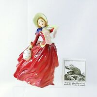 Royal Doulton Figurine Autumn Breezes Hallmarked and HN 1934 Vintage Collectible