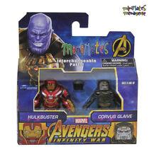 Marvel Minimates Toys R Us Avengers Infinity War Movie Hulkbuster Corvus Glaive