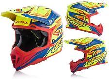 casco per moto da cross enduro motard quad interni staccabili acerbis impact 3.0