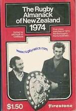 1974 Rugby Almanack de Nueva Zelanda