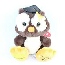 "Aurora Taddle Toes Winks Graduation 10"" Owl Soft Plush Toy Stuffed Animal Deluxe"