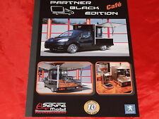 "PEUGEOT Partner ""Black Edition Cafe""Sondermodell Prospekt von 2009"
