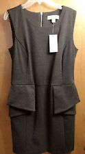 "MICHAEL KORS ""Dark Derby"" Combo Gray Dress Size 10. Free Shipping USA"