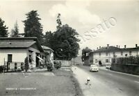Cartolina di Cicognola (Merate), automobile e gelateria - Lecco