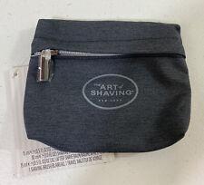 The Art Of Shaving Small Size Zipper Travel Empty Bag