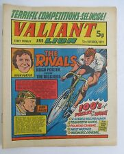 VALIANT & LION Oct 12, 1974 with Cycling Rivals Hugh Porter vs Dirk Baert Cover