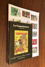 Lotto 3 Cataloghi (Fumetti e Album di Figurine da collezione) - La Fumettoteca