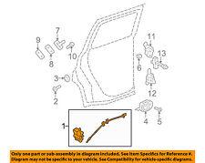 Chevrolet GM OEM 06-11 HHR Rear Door-Lock or Actuator Latch Release 25811544