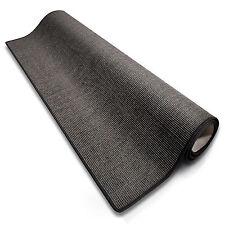 100% Sisalteppich in grau, 1A verschiedene Breiten NEU Läufer Brücke Teppich