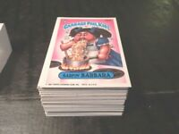 1987 Garbage Pail Kids GPK USA Series 7 Complete Set 88 cards 1st print errors