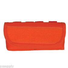 shotgun ammo pouch for 12 rounds molle safety orange fox 56-322