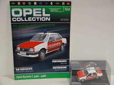 OPEL Collection 104 Opel Ascona C Feuerwehr 1982 - 1988 in Klarsichtbox + Heft