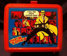 Pick Tracy Vintage Lunchbox and Thermos Red comic