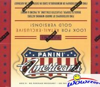 2015 Panini Americana HUGE 24 Pack Factory Sealed Retail Box-192 Cards+AUTO/MEM