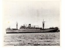 US Navy Troop Carrier Transport Ship George F.Elliot AP-13 Oficial Photo 8x10