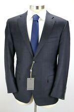 $2195 CANALI 1934 Dark Grey Plaid Wool Two Button Suit Modern Fit 42 R (52 EU)