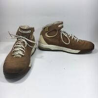 Nike Huarache Max 2K4 Air Men's 12 M Brown Leather Basketball Shoes 314430