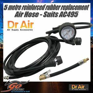 5mt long Replacement Air Hose Gauge Fittings AHR01 suits AC495 AC595 & MM Compre