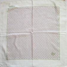 -Superbe Foulard  RAYMOND WEIL   100% soie  (T)BEG  vintage scarf