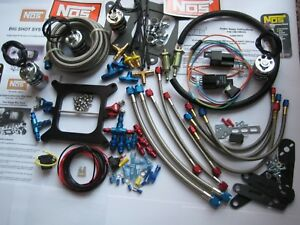 THE ANIMAL! NEW NOS 2 STAGE BIGSHOT HOLLEY 4150/4500 NITROUS PLATE KIT 100-475HP