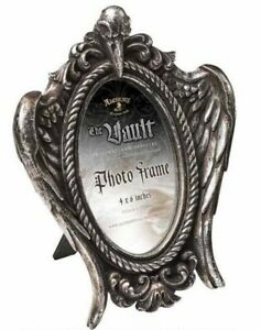 Alchemy England - My Soul from the Shadow Picture Frame, Raven Skull Gothic Gift