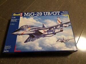 Mig-29 UB Two-Seater Fulcrum Revell 1:32 Revell 4751