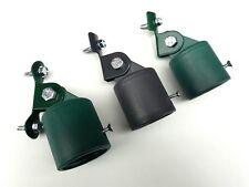 Strebenkappe + Halter Strebenkappenhalter komplett Zaunstrebenkappe Zaunstrebe