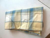 Longaberger 1 Fabric Napkins - Cornflower Plaid