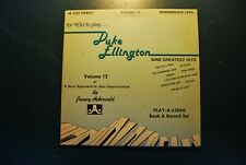 For you to play Duke Ellington Volume 12 intermediate rare vinyl LP record