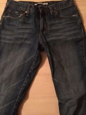 Mavi Molly Boot Cut Distressed Women's 100% Cotton Jeans Size 28 X 31