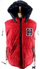 NWT Tommy Hilfiger Mens Varsity Puffer Jacket Coat Hood...